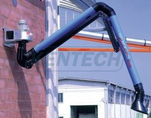 Kentech coral suction arm & fan