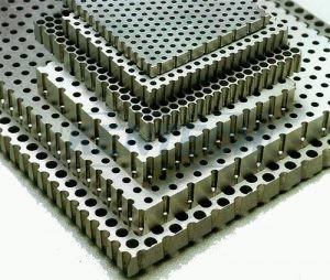 Kentech drilled plate